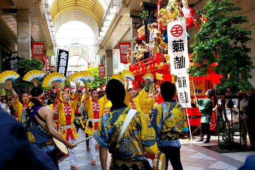 新聞折込チラシ 仙台青葉祭り